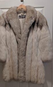 "Jackets & Blazers - Vintage Saga Fox Fur Jacket Stroller 35"" Long"
